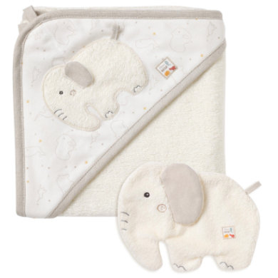 Image of fehn® Bade-Set Elefant fehnNATUR