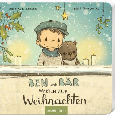 Image of arsEdition Ben und Bär warten auf Weihnachten