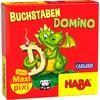 """CARLSEN Maxi Pixi-Spiel """"made by haba"""" Buchstaben-Domino"""