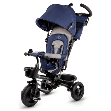Kinderkraft Tricycle évolutif enfant Aveo 6 en 1, bleu