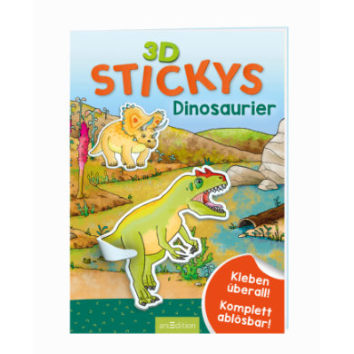 Image of arsEdition 3D-Stickys Dinosaurier