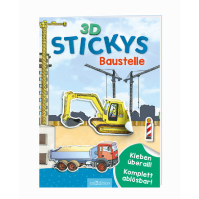 Image of arsEdition 3D-Stickys Baustelle