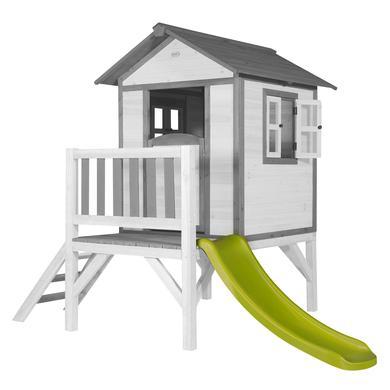 Spielhäuser und Sandkästen - axi Spielhaus Lodge XL, weiß grau  - Onlineshop Babymarkt