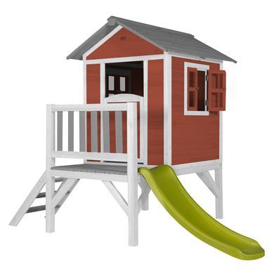 Spielhäuser und Sandkästen - axi Spielhaus Lodge XL, rot weiß  - Onlineshop Babymarkt