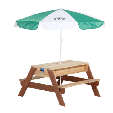 axi Sand- und Wassertisch, braun