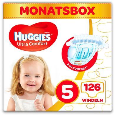 Huggies Pannolini Ultra Comfort Taglia 5, pacco convenienza 126 pezzi