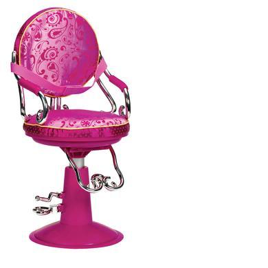 Our Generation - Frisierstuhl mit pinkem Paisley