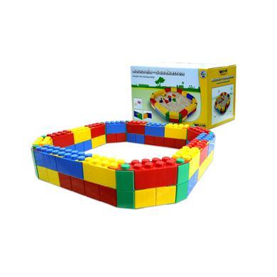 Spielhäuser und Sandkästen - WADER QUALITY Sandkasten aus Baustein XXL  - Onlineshop Babymarkt