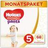 Huggies Pieluchy Ultra Comfort Rozmiar spodni 5-miesięczne pudełko 68 sztuk