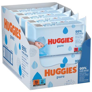 Image of Huggies Zuivere vochtige babydoekjes 10 x 56 doekjes
