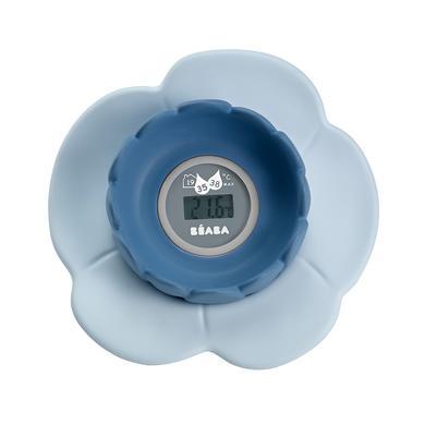 Image of BEABA Multifunktions-Digitalthermometer Lotus grau / blau