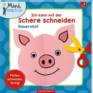 Image of SPIEGELBURG COPPENRATH Ich kann mit der Schere schneiden: Bauernhof (Minikünstler)