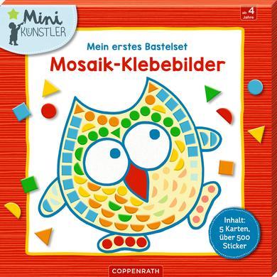 Image of SPIEGELBURG COPPENRATH Mein erstes Bastelset: Mosaik-Klebebilder (Mini-Künstler)