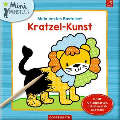 Image of SPIEGELBURG COPPENRATH Mein erstes Bastelset: Kratzel-Kunst (Mini-Künstler)