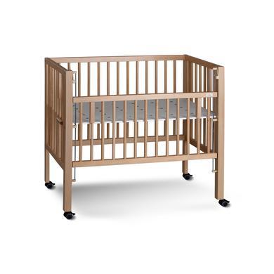 Kinderbetten - tiSsi® Beistellbett Maxi Boxspring natur 50 x 90 cm  - Onlineshop Babymarkt