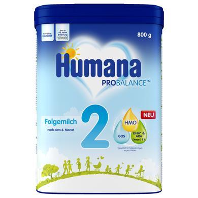 Humana Folgemilch 2 800 g nach dem 6. Monat