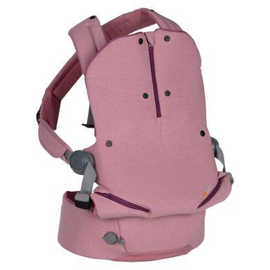 Image of BeSafe Babytrage Haven Haze Premium Leaf Pink