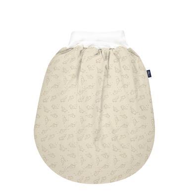 Alvi® Gigoteuse bébé Thermo XL coton bio éléphant rayures