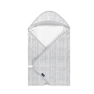 Image of Alvi® Reisedecke Light Organic Cotton Check-Point 80 x 80 cm
