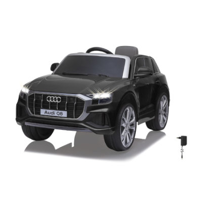 JAMARA Ride-on Audi Q8 zwart 12V