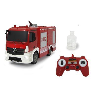 JAMARA Camion pompier radiocommandé TLF Mercedes-Benz Antos, lance 1:26 2,4GHz