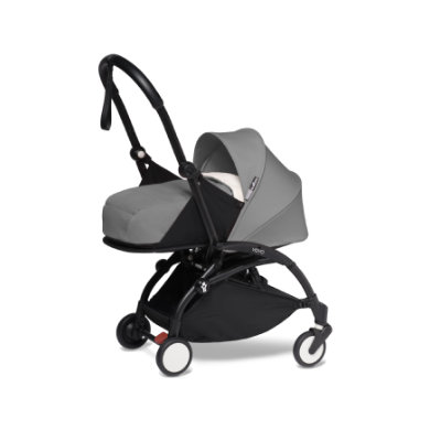 Image of BABYZEN Kinderwagen YOYO2 0+ Black/Grey-grau