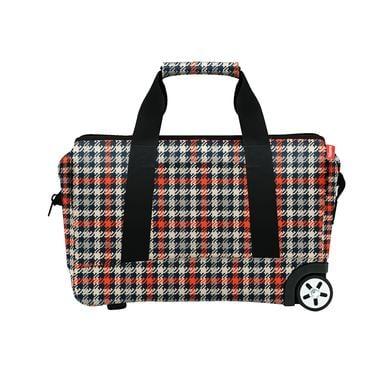 Kinderkoffer - reisenthel® allrounder trolley glencheck red - Onlineshop Babymarkt