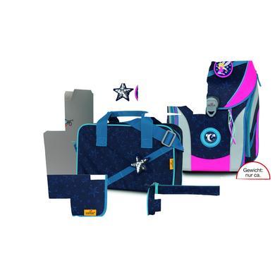 Schulranzen - DerDieDas® ErgoFlex Max Buttons – Blue Fairy, 5–tlg. - Onlineshop Babymarkt