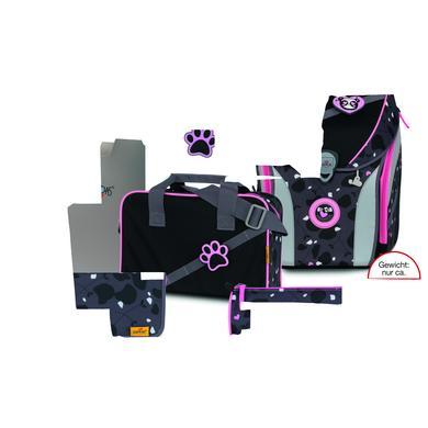 Schulranzen - DerDieDas® ErgoFlex Max Buttons – Pink Panda, 5–tlg. - Onlineshop Babymarkt