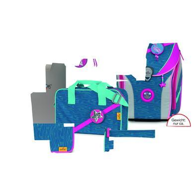 Schulranzen - DerDieDas® ErgoFlex Max Buttons – Karibik, 5–tlg. - Onlineshop Babymarkt