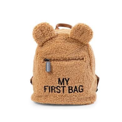 CHILDHOME Sac à dos enfant My First Bag ourson beige