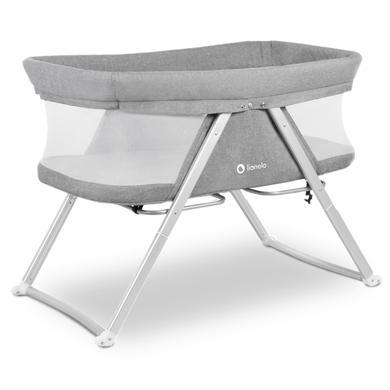 Kinderbetten - lionelo Beistellbett Vera Grey  - Onlineshop Babymarkt