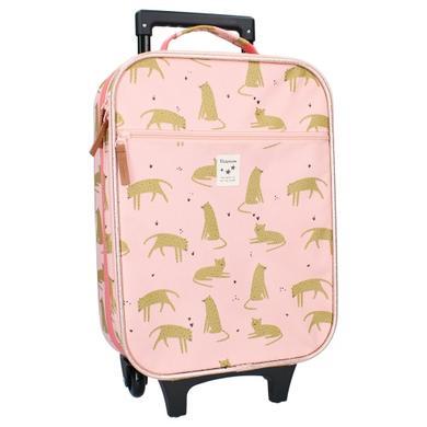 Kinderkoffer - Kidzroom Trolley Koffer Cuddle Leoparden - Onlineshop Babymarkt