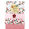 HÜTTE & CO sciarpe molleton 4 confezioni di fiori
