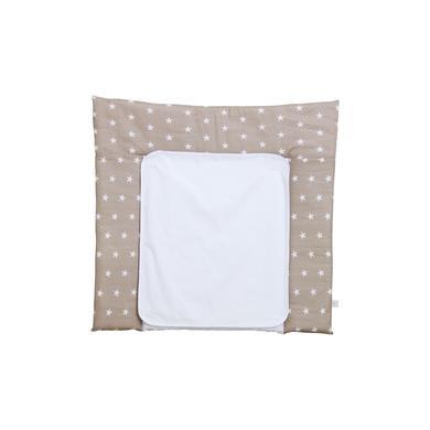 Wickelmöbel und Zubehör - Polini Kids Wickelauflage 77 x 72 cm Sterne macchiato  - Onlineshop Babymarkt