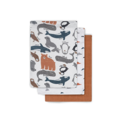 Image of jollein Mullwaschlappen Polar 3er Pack