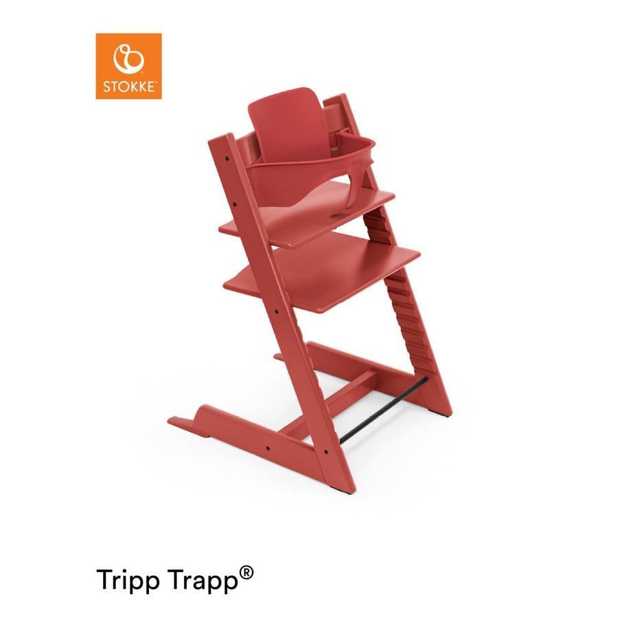 Hochstühle - STOKKE® Tripp Trapp® Hochstuhl inkl. Baby Set Buche Warm Red  - Onlineshop Babymarkt