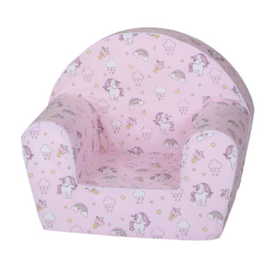 Sitzmöbel - knorr® toys Kindersessel Rainbow Unicorn  - Onlineshop Babymarkt