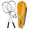 PiNAO Sports Badminton-Set Family, orange