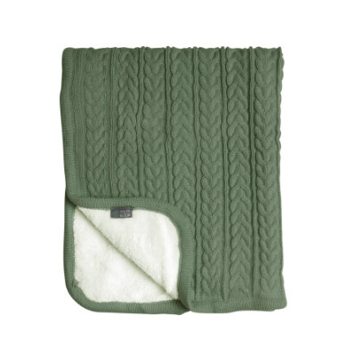 Image of VINTER& BLOOM Coperta coccolosa Cuddly Forest Green