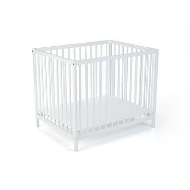 Laufgitter - LaWaLu by geuther Laufgitter Sarah 75 x 95 cm weiß uni weiß  - Onlineshop Babymarkt