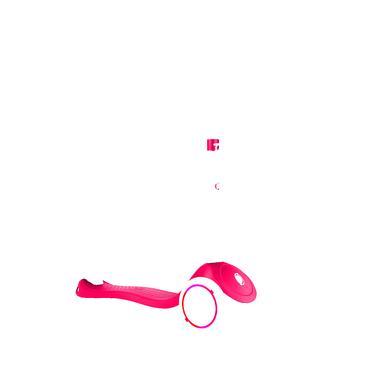 Roller - GLOBBER Scooter PRIMO LIGHTS, rot mit Leuchtrollen - Onlineshop