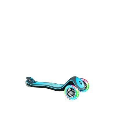 Roller - GLOBBER Scooter ELITE DELUXE LIGHTS sky blau mit Leuchtrollen - Onlineshop
