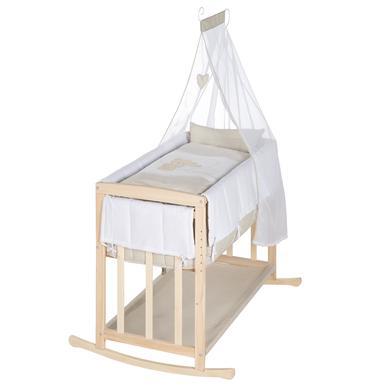 Stubenwagen und Wiegen - roba Stubenbett Liebhabär 4 in 1 natur  - Onlineshop Babymarkt