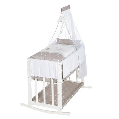 Stubenwagen und Wiegen - roba Stubenbett Indibär 4 in 1 weiß  - Onlineshop Babymarkt