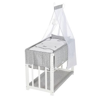 Stubenwagen und Wiegen - roba Stubenbett Miffy 3 in 1 weiß  - Onlineshop Babymarkt