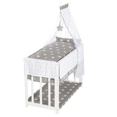 Stubenwagen und Wiegen - roba Stubenbett Little Stars 3 in 1 weiß  - Onlineshop Babymarkt