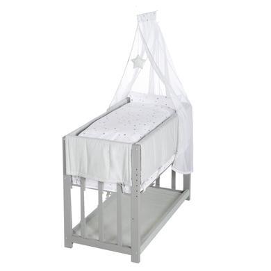 Stubenwagen und Wiegen - roba Stubenbett Sternenzauber 3 in 1 weiß  - Onlineshop Babymarkt