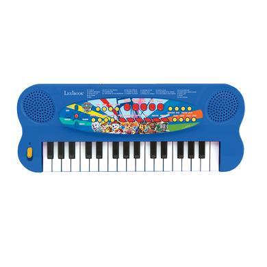 LEXIBOOK Tlapková patrola - 32klávesové piano s mikrofonem pro zpěv
