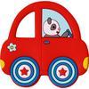 SPIEGELBURG COPPENRATH Beißring Auto BabyGlück